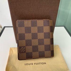 Louis Vuitton Bags - Authentic Louis Vuitton Damier Ebene Men's Wallet